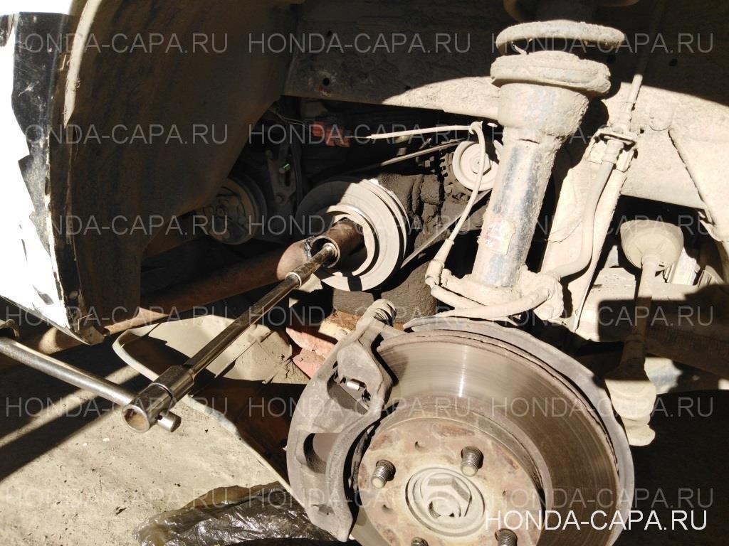Замена ремня ГРМ на Honda Capa D15B (после обрыва ГРМ)