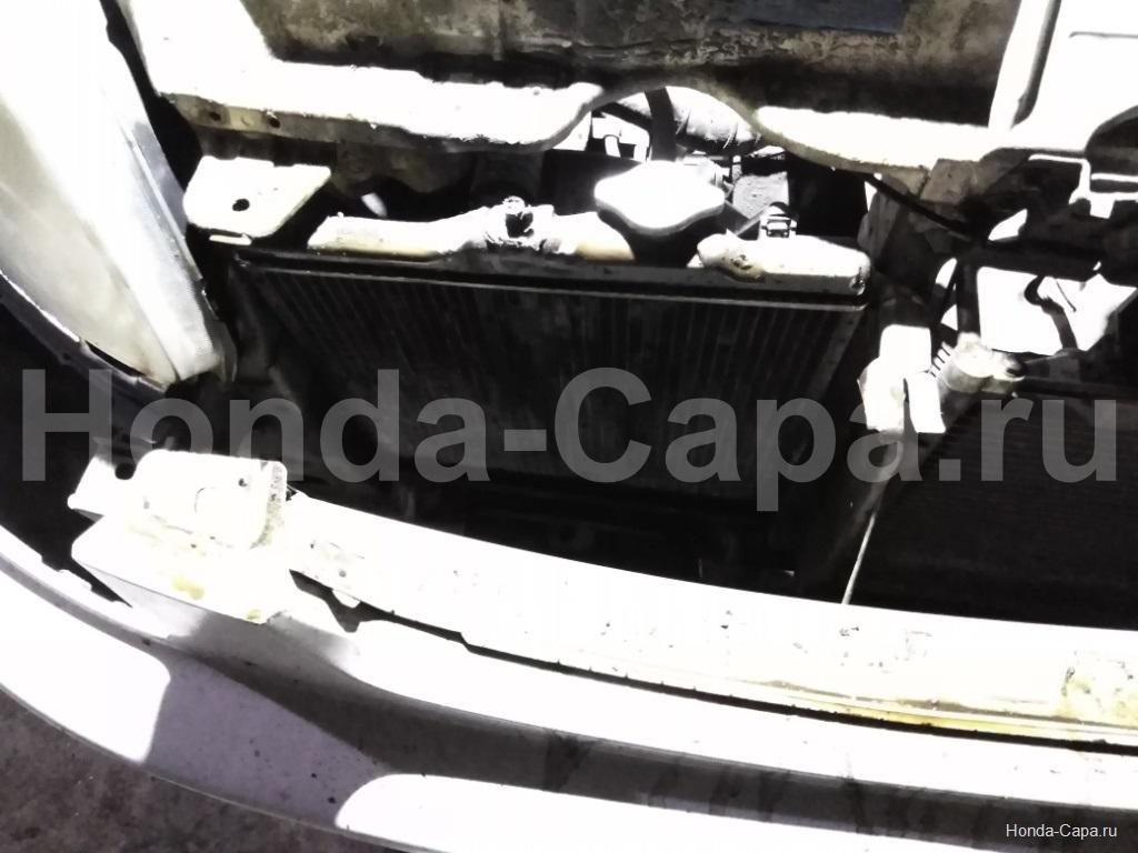 Замена радиатора Хонда Капа