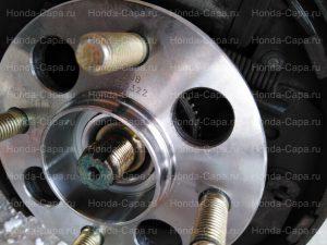 Замена ступицы Хонда Капа